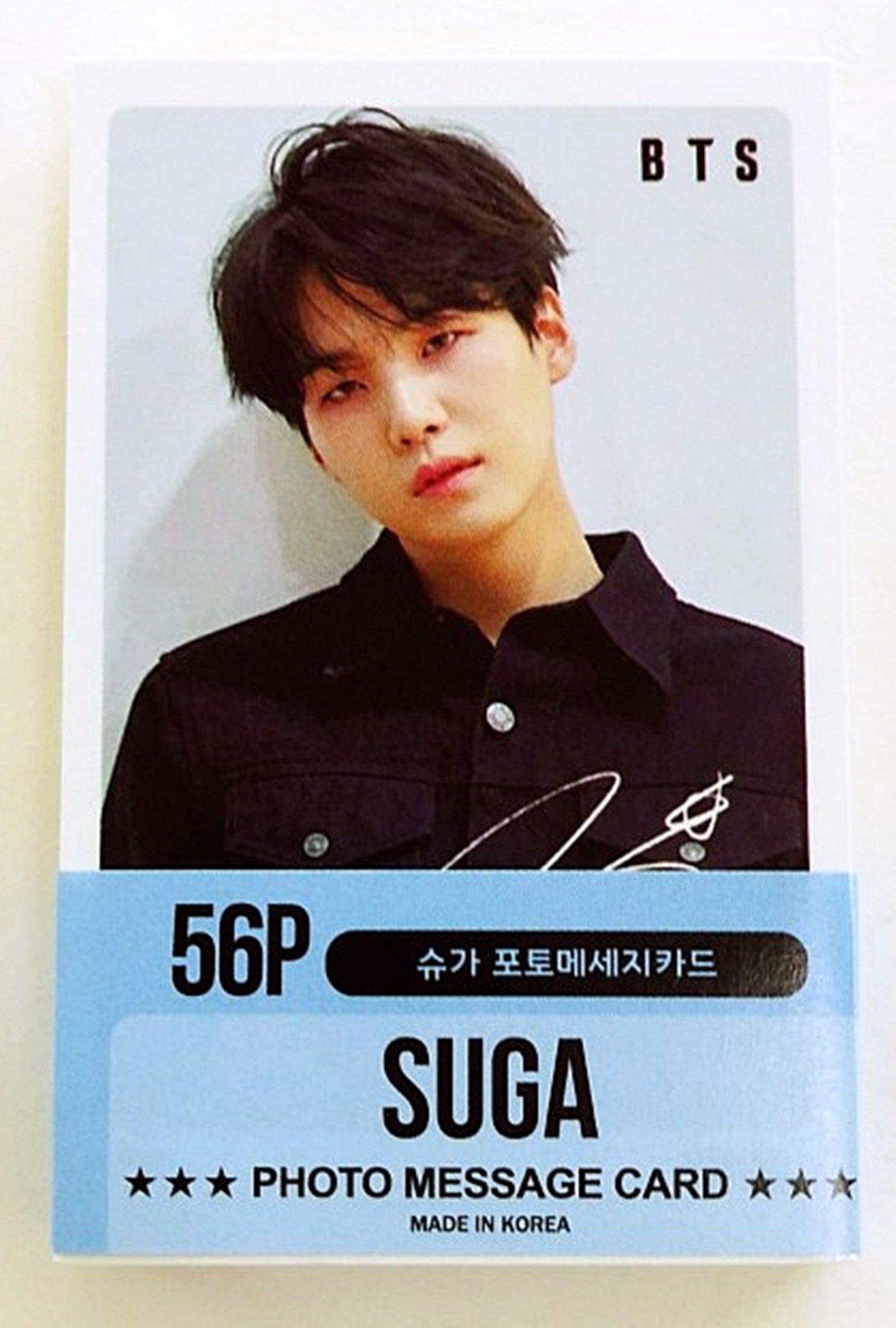 BTS - SUGA Solo Photocards 56pcs