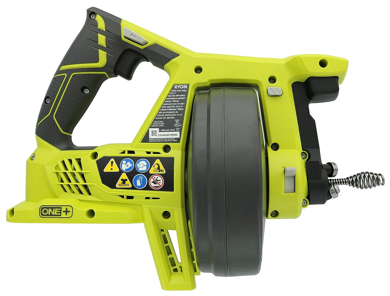 ryobi p4001 one 18v drain auger tool only 11 22 x 14 606 x 6 89 rh amazon com Ryobi User Manuals Ryobi SS26 Manual