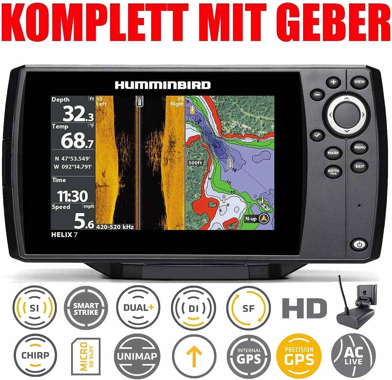 【HUMMINBIRD/ハミンバード】HELIX 7 CHIRP MEGA SI GPS G3 マップ無し GPS魚探 魚群探知機 航海計器