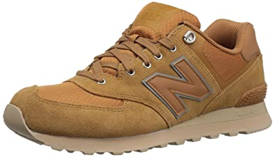 Neueste New Balance ML 574 PKR Sand Schuhe für Herren, New