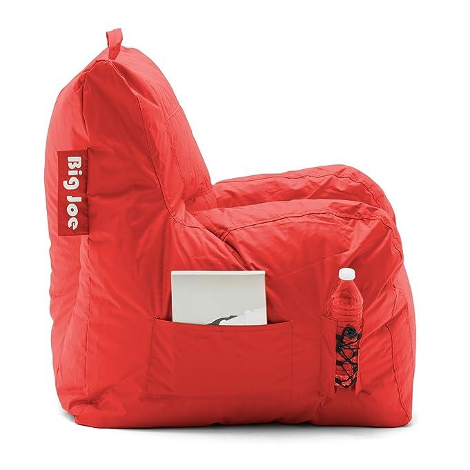 Amazon Big Joe Dorm Bean Bag Chair Flaming Red Kitchen Dining