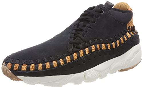 super popular 9d330 6dbfa Nike Men's Air Footscape Woven Chukka PRM Gymnastics Shoes Dark Russet/sail/ Black 002