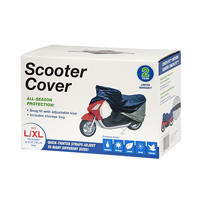 Amazon.com: Detailers Preference Polyester Scooter Cover Fits Small and Medium: Automotive