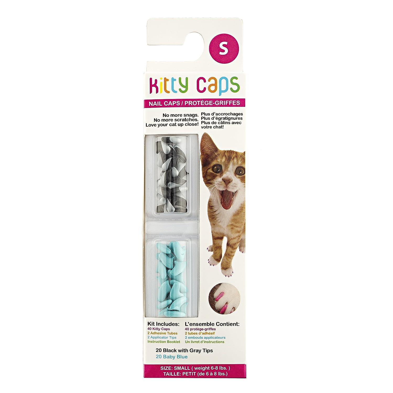 shopping online di moda Kitty Kitty Kitty 40 Count Spring verde con Glitter e ultraviolati Nail Caps, XS  risparmia fino al 70%