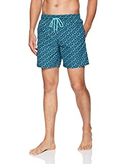 e440a03253 Vilebrequin Men's Placed Embroidery Mosaic Turtles Swim Trunk ...