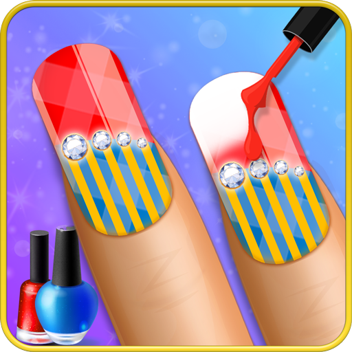 Nails Makeover Salon - Fashion Games for (Halloween Makeover Games)