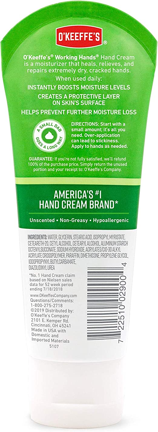 No Crack Day Use Unscented Hand Cream