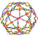 4E's Novelty Expandable Breathing Ball Toy Sphere for Kids Stress Reliever Fidget Toys Colors May Vary for Yoga Anxiety Relax