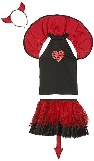Rubies- Disfraz infantil diablesa Tutuween, M (5-7 años) (Rubies ...