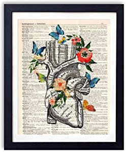 yuzi-n Anatomy Art Print, Medical School Graduation Gift, Doctor Gift Doctor, Doctor Office Decor, Social Worker Graduation Gift, Occupational Therapist Gift