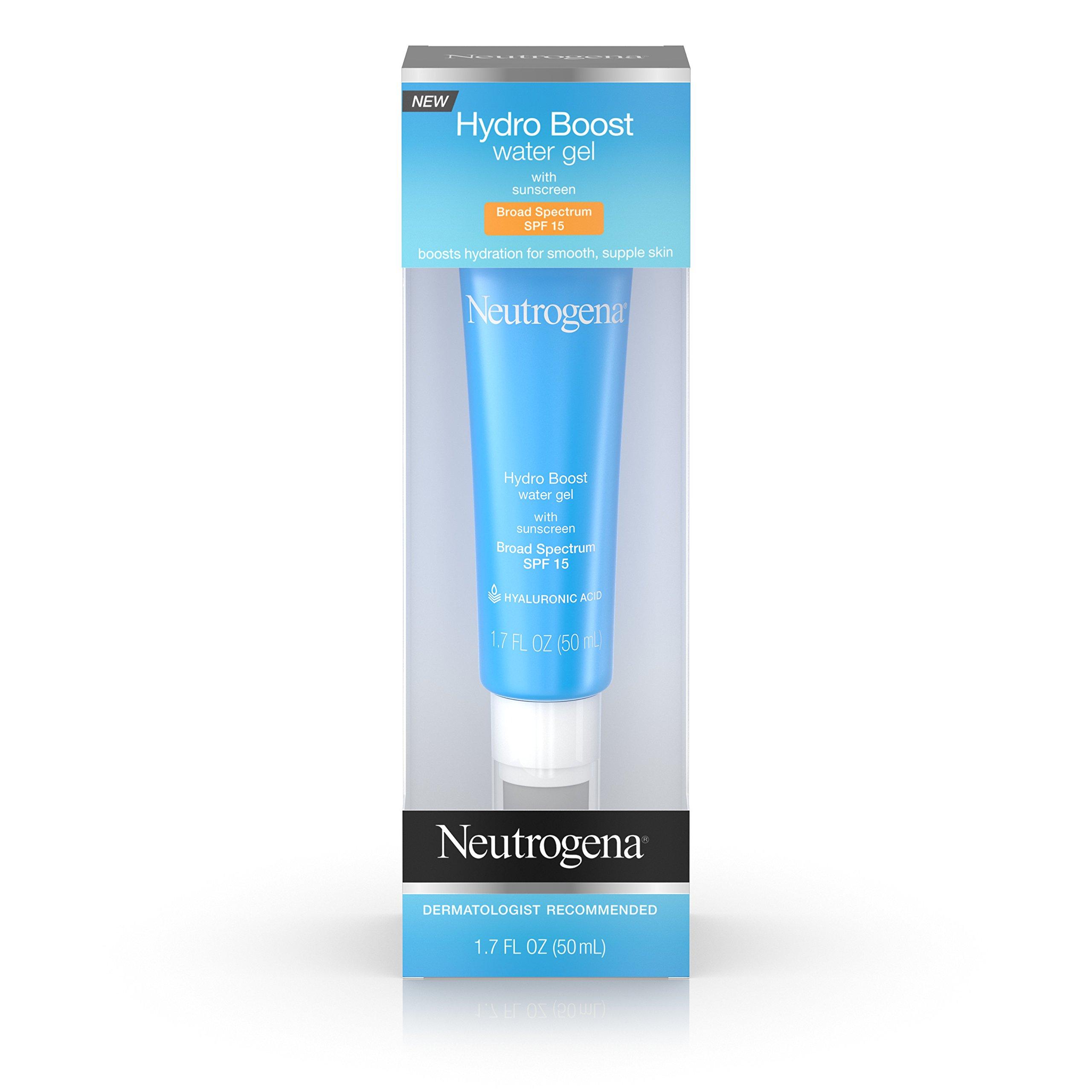 Neutrogena Hydro Boost Water Gel SPF 15, 1.7 Oz
