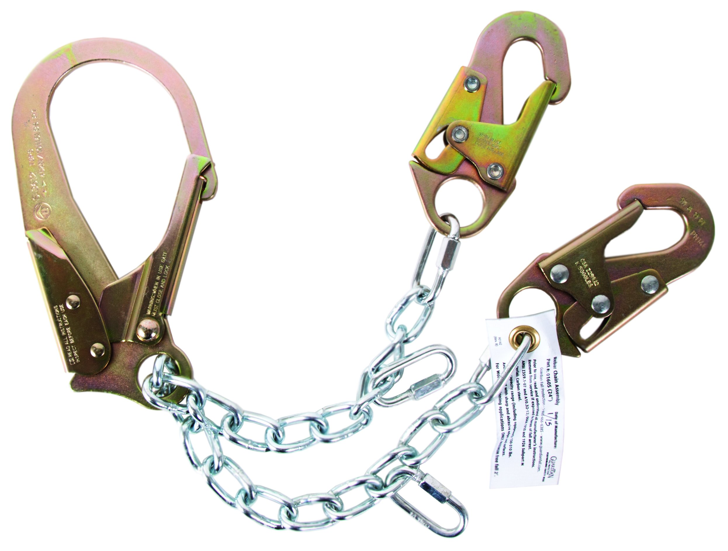Guardian Fall Protection 01605 REBR-C Rebar Positioning Device Chain Assembly Standard by Guardian Fall Protection