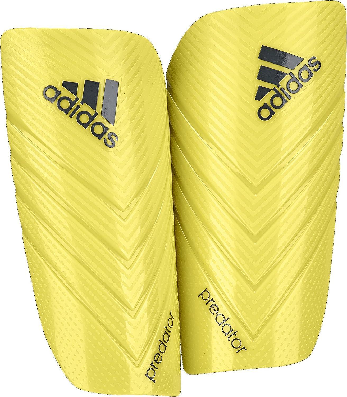 AdidasパフォーマンスPredator Lesto Shin Guard B00QXESQEOBright Yellow/Dark Grey Small