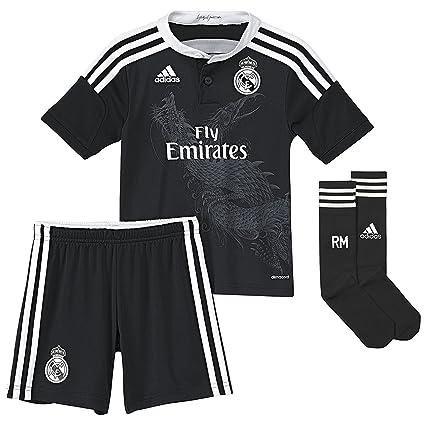 Equipación Infantil Real Madrid Champions 3ª 2014-15