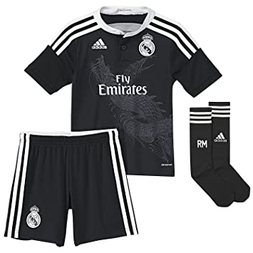 Equipación Infantil Real Madrid Champions 3ª 2014-15  Amazon.es ... 889f12e908ca4