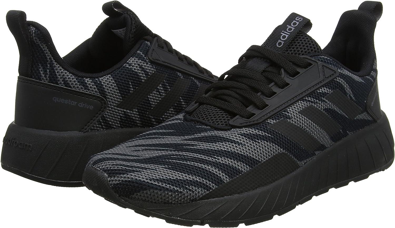 adidas Questar Drive, Zapatillas de Entrenamiento para Hombre, Negro (Core Black/Core Black/Grey Five 0), 46 2/3 EU: Amazon.es: Zapatos y complementos