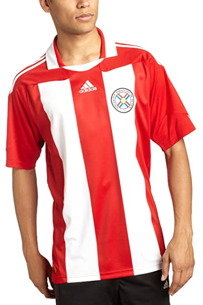 Amazon.com: adidas Paraguay Home Soccer Jersey: Clothing
