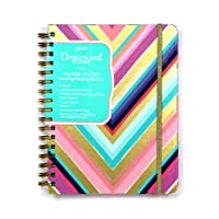 Posh: Organized Living 2018-2019 Monthly/Weekly Planning Calendar: Chic Chevron
