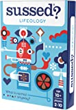 SUSSED Lifeology (Hilarious Family Friendly Conversation Card Game) (Find Out Who Knows Who Best)