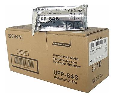 SONY UPP84S Rollos de papel térmico estándar para impresoras ...