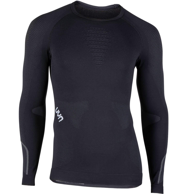 Noirboard noir blanc UYN Ambityon UW T-Shirt à Manches Longues pour Homme XXL