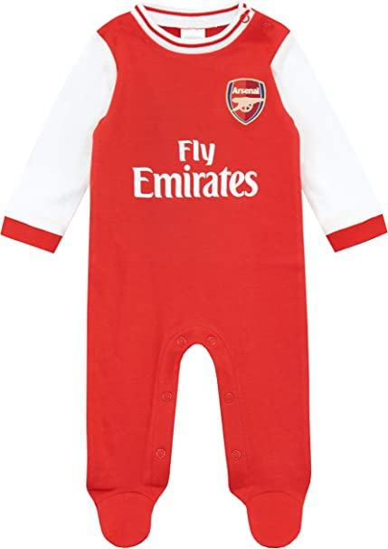 Arsenal FC Baby Kit Shirt and Shorts 100/% cotton 100/% Official AFC Item Gooners