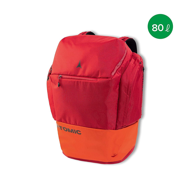 Atomic Damen/Herren Rucksack RS Pack, 80 Liter, 62 x 43 x 32 cm, Polyester, rot/hellrot, AL5037310 ATOAQ|#ATOMIC