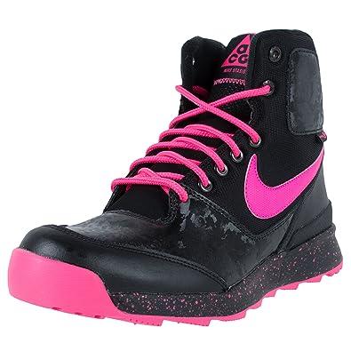 Kids s Nike Stasis ACG (GS) Boot Black Pink Size 4 ... 402238e5b9
