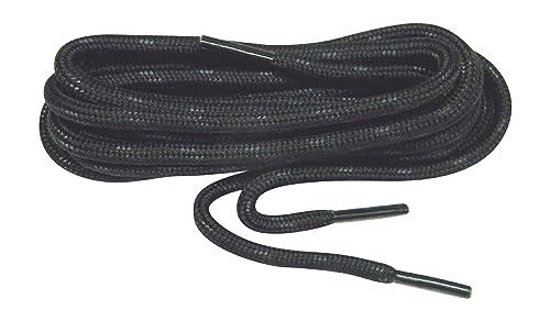 Black w/Black Kevlar proTOUGH(TM) Reinforced Heavy Duty Boot Laces Shoelaces  (