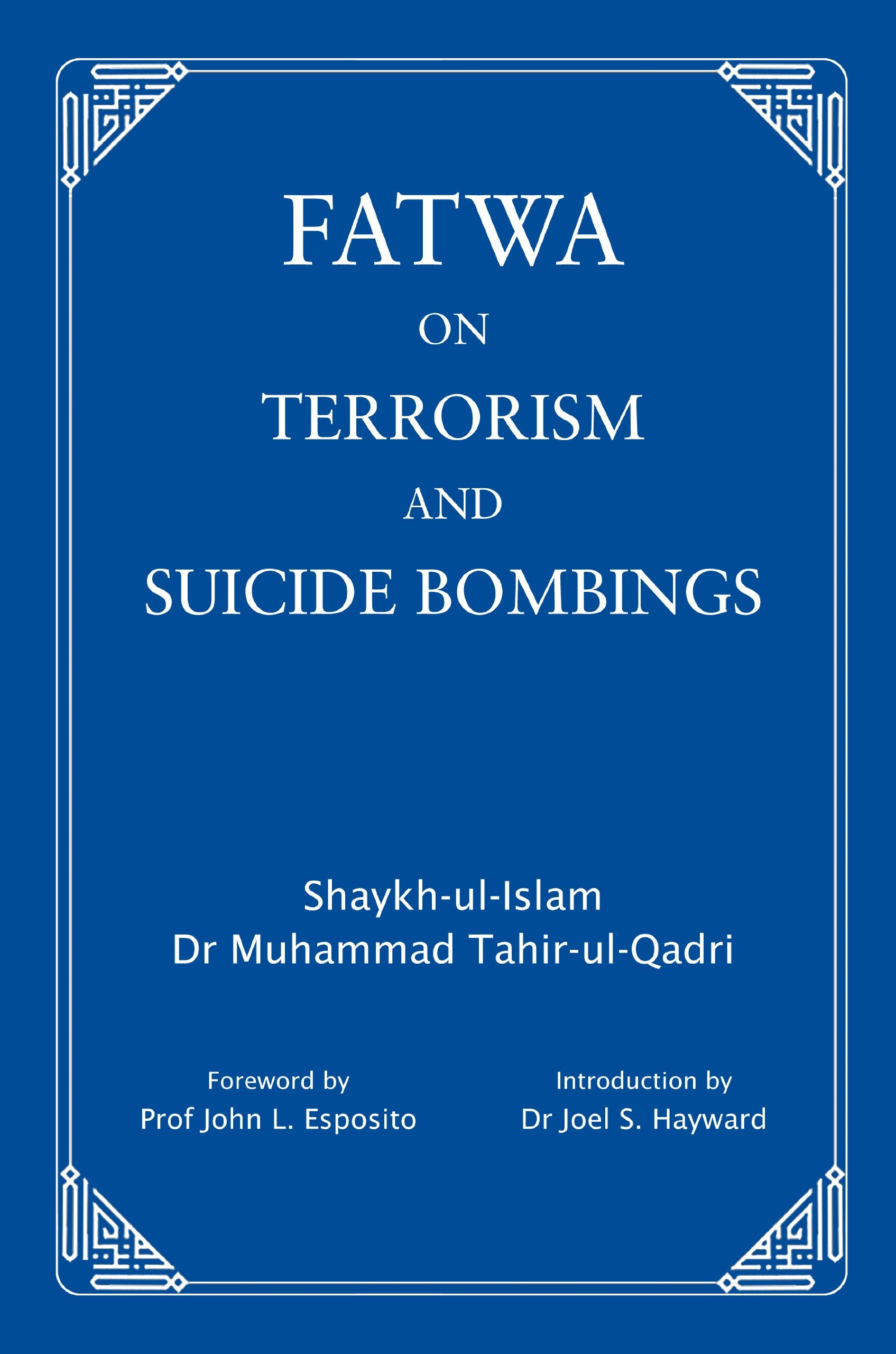 Fatwa on Terrorism and Suicide Bombings: Amazon it: Muhammad