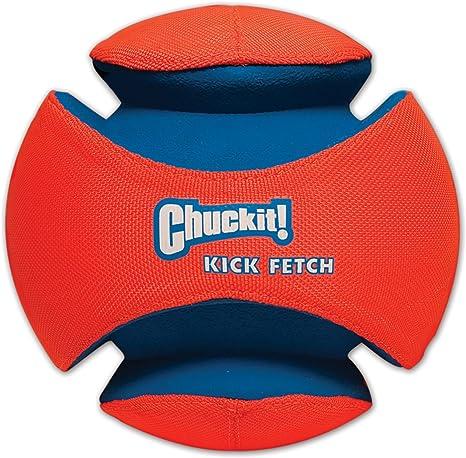 Chuckit! 251201 Kick Fetch Balón de Fútbol para Perros, L: Amazon ...