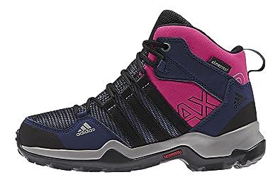 brand new 5402b e0285 adidas AX2 Mid CP, Chaussures de Randonnée Hautes mixte enfant, Bleu (Prism  Blue