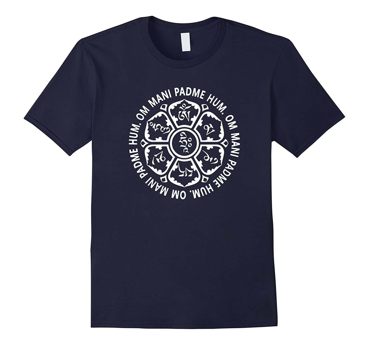 Om Mani Padme Hum Mantra t-shirt for women men or youth-Art