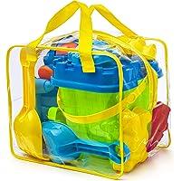 Completo conjunto de juguetes para la playa en