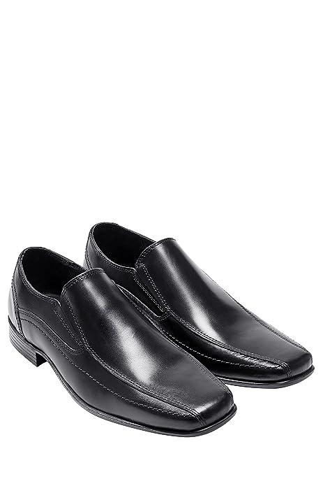 Zapatos negros con velcro formales Next infantiles LFW1akFiZ