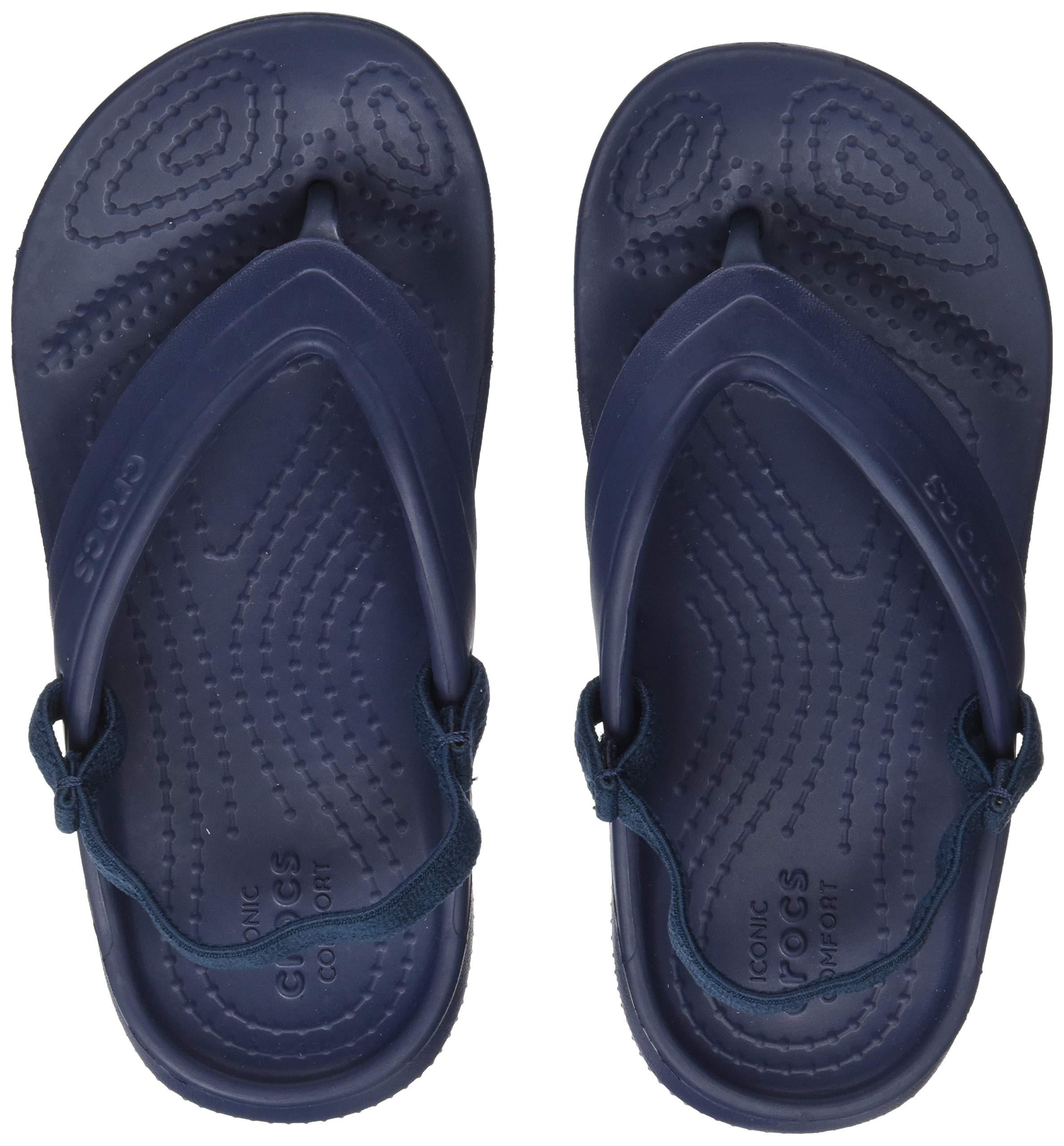 Crocs Classic K Flip Flop (Toddler/Little Kid), Navy, 9 M US Toddler