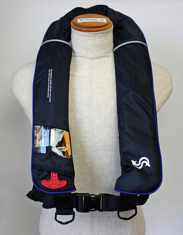 買取り実績  自動膨張式 ライフジャケット B016XE9MAU 肩掛け式/高階 ブルーストーム BSJ-2520RS ブラック×ブルー 国交省認定品 自動膨張式 B016XE9MAU, 小川町:9f43370d --- a0267596.xsph.ru