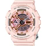 Casio GMAS110MP-4A1 Women's G-Shock Ana-Digi Pink Dial Pink Resin Strap Alarm Dive Watch