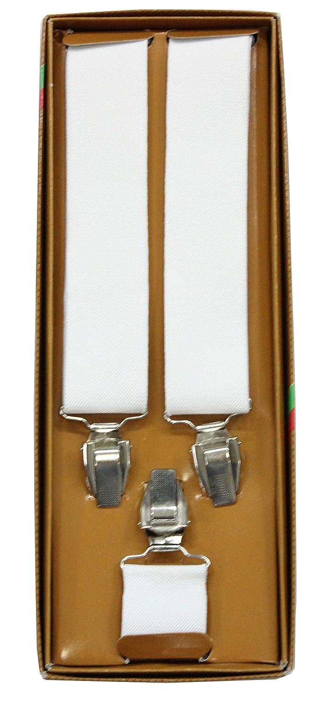 Romano Classy White Suspender