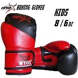 Wyox Kids Boxing Gloves Junior Training 6 8 oz Children Age 6-14 USA