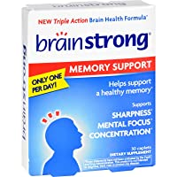 2Pack! BrainStrong Memory Support - 30 Capsules