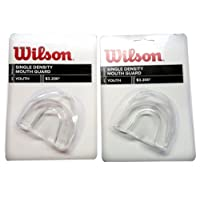 Wilson Single Density Youth Mouth Guard (2 Pack)