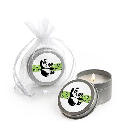 Amazon.com: Party Like a Panda Bear – Juego de 12 velas de ...