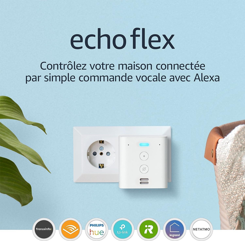 Echo Flex, Contrôlez les appareils connectés par simple commande vocale avec Alexa