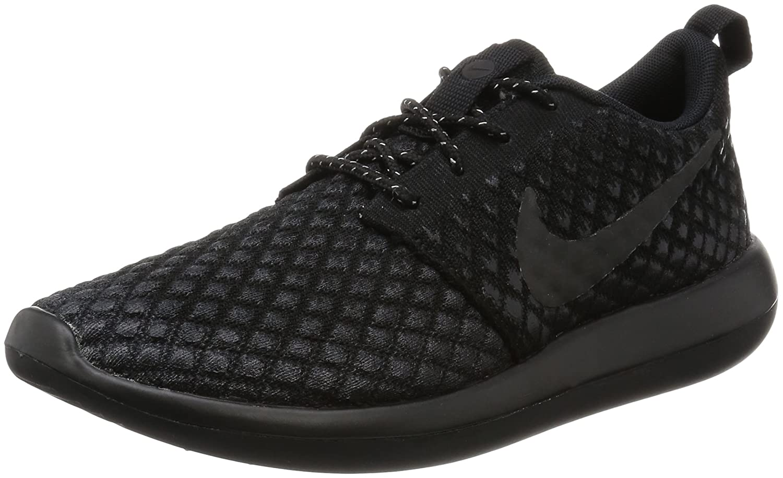 Nike Roshe Two Flyknit 365 Herren Freizeitschuhe 859535-001  45 EU|Black (Schwarz / Schwarz-schwarz-schwarz)