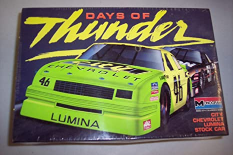 Days of Thunder City Chevy Lumina Stock Car Model Kit