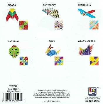 Amazon.com: Origami set, bichos: Arte, Manualidades y Costura