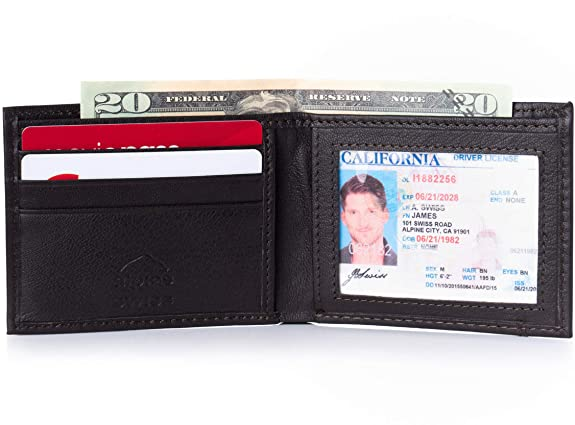 Alpine Swiss Mens WalletBlack Friday Deal 2020