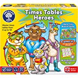 Orchard Games Times Tables Heroes Bingo Game