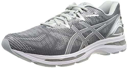 Problema semanal Inesperado  Buy ASICS Men's Gel-Nimbus 20 Platinum Carbon/Silver/White Running Shoes-11  UK (46.5 EU) US (T836N.9793.12) at Amazon.in